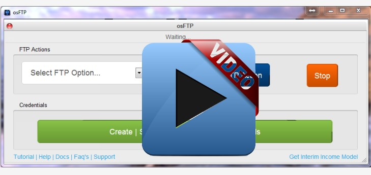 osFTP... Awesome New Custom *PLR* Software!... Step Up & Streamline