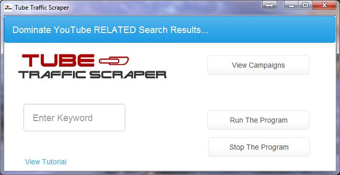 Tube Trafic Scraper v4.1